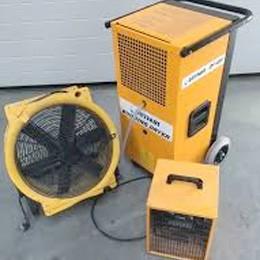 Drogen, verwarmen en ventileren